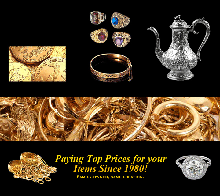 Buy All Types of Gold , Silver & Platinum Chicago