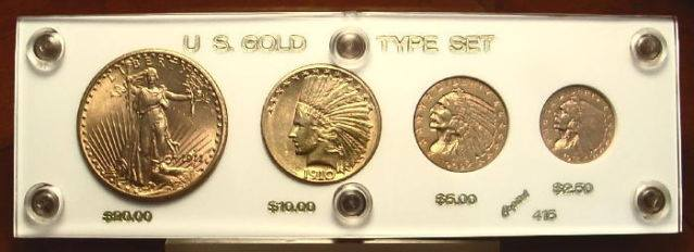 Type Of Set US Gold Coins