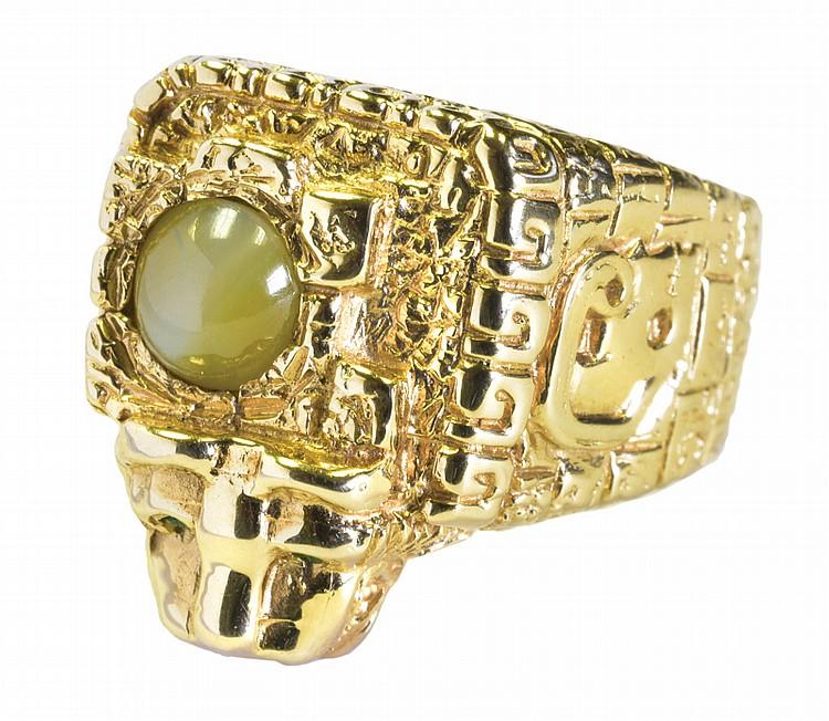 Aztec-Ring-with-Jaguar-Head