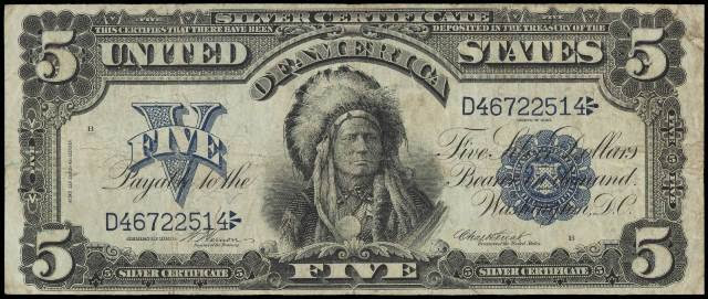 This 1899 $5 Silver Certificate Is Worth a few hundred dollars